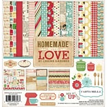Echo Park Paper Homemade With Love Carta Bella Collection Kit, 12 x 12 (HL23016)