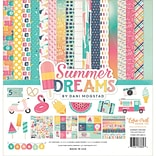 Echo Park Paper Summer Dreams Collection Kit, 12 x 12 (DR126016)