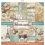 Stamperia Intl Around The World, 10 Designs/2 Each Double-Sided Paper Pad, 12 x 12, 10/Pkg (SBBL28