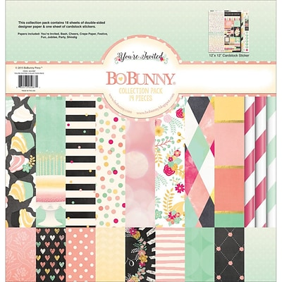 BoBunny Youre Invited Collection Pack, 12 x 12 (18233987)