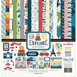 Echo Park Paper Go, See, Explore Collection Kit, 12 x 12 (GSE27016)