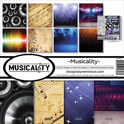 Reminisce Musicality Collection Kit, 12 x 12 (MUS200)