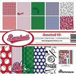 Reminisce Baseball Collection Kit, 12 x 12 (BSB200)