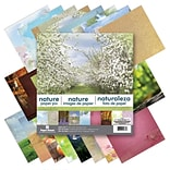 Paper House Nature Double-Sided Paper Pad, 12 x 12, 24/Pkg (PHP12-0036)