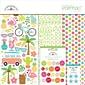 "Doodlebug Fun In The Sun Essentials Page Kit, 12"" x 12"" (FIS5294)"