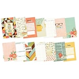 Simple Stories Monthly, Undated The Reset Girl Double-Sided A5 Inserts (RG4976)