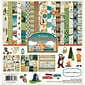 "Echo Park Paper Great Outdoors Carta Bella Collection Kit, 12"" x 12"" (GO55016)"