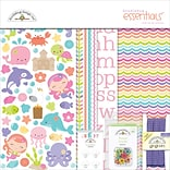 Doodlebug Under The Sea Essentials Page Kit, 12 x 12 (UTS5152)