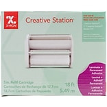 Xyron Creative Station Laminate/Adhesive Cartridge, 5 X 18 (51020800)