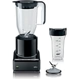 Braun PureMix 56 oz. Countertop Blender with BPA-free Smoothie-to-Go Cup (JB7001)