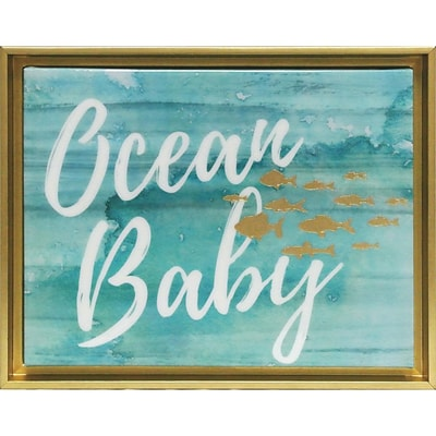 Linden Avenue Wall Art Ocean Baby 8 x 10 (AVE10497)