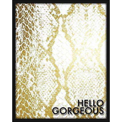 Linden Avenue Wall Art HELLO GORGEOUS 16 x 20 (AVE10327)