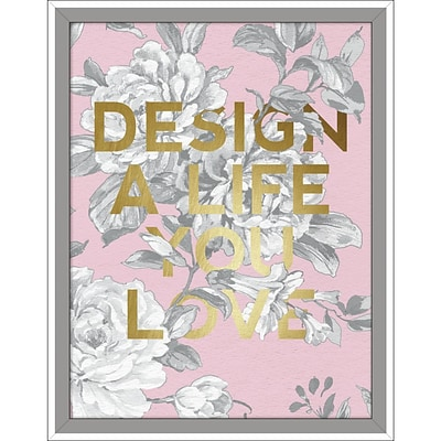 Linden Avenue Wall Art DESIGN A LIFE YOU LOVE 11 x 14 (AVE10385)