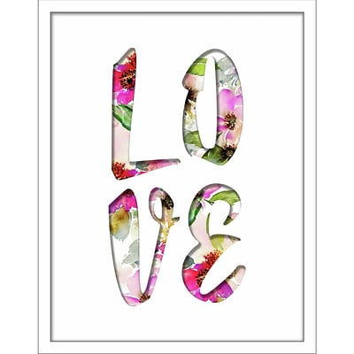 Linden Avenue Wall Art LOVE FILLED WORD 11 x 14 (AVE10397)