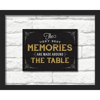 Linden Avenue Wall Art THE VERY BEST MEMORIES 20 x 16 (AVE10443)