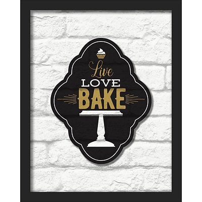 Linden Avenue Wall Art LIVE LOVE BAKE 16 x 20 (AVE10445)