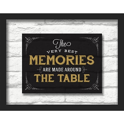Linden Avenue Wall Art THE VERY BEST MEMORIES 14 x 11 (AVE10488)
