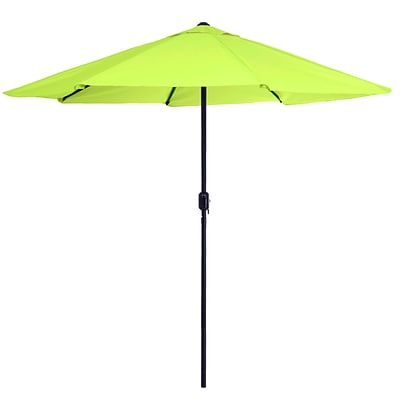 Pure Garden 9 Patio Umbrella Lime Green (M150066)