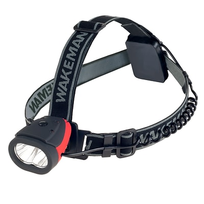 Wakeman Outdoors LED Head Lamp Red (M570016)