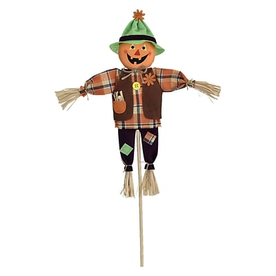 Amscan Friendly Scarecrow Yard Sign, 24.5 x 11, 4/Pack (190541)