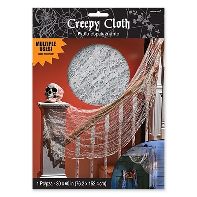Amscan Halloween Creepy Bloody Cloth, 60 x 30, 7/Pack (220287)