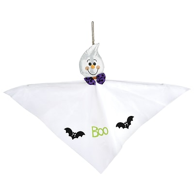 Amscan Friendly Ghost Hanging Decoration, 24.5 x 35, 4/Pack (241530)