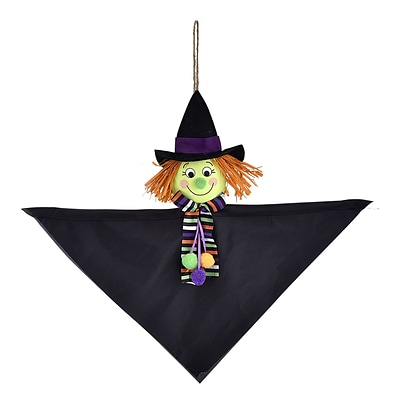 Amscan Friendly Witch Mini Hanging Decoration, 15 x 19, 8/Pack (241533)