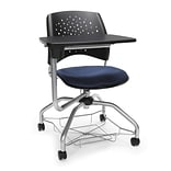 Stars Foresee Tablet Chair, Navy (329T-2203)