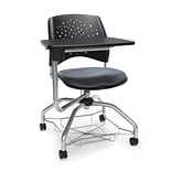 Stars Foresee Tablet Chair, Slate Gray (329T-2213)