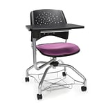 Stars Foresee Tablet Chair, Plum (329T-2214)
