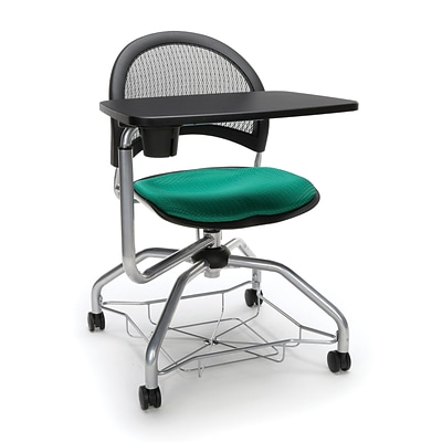 Moon Foresee Tablet Chair, Shamrock Green (339T-2201)