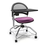 Moon Foresee Tablet Chair, Plum (339T-2214)