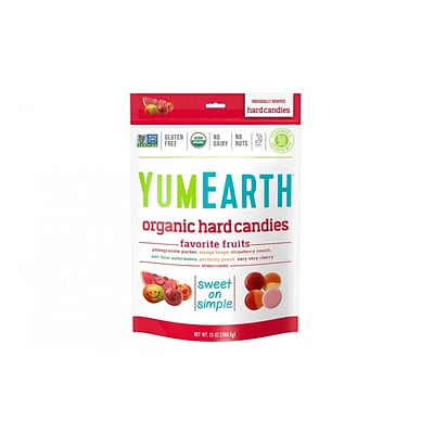 YumEarth Organic Favorite Fruit Hard Candies, 13 oz., 3 Pack (0166)