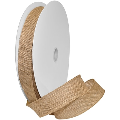 Morex Corp Natural Burlap Wired Ribbon, 1.5 x 10 yd (125240-4)