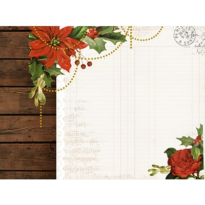 Kaisercraft  Letters To Santa D-Ring Album, 12 x 12 (SA275)