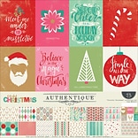Authentique Paper Colorful Christmas Collection Kit, 12 x 12 (COL011)