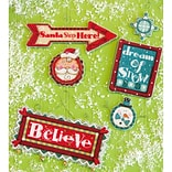 Dimensions Set Of 3 Whimsical Signs Ornaments Counted Cross Stitch Kit, 14 Count (70-08953)