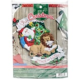 Bucilla 18 Long Peace On Earth Stocking Felt Applique Kit (86665)