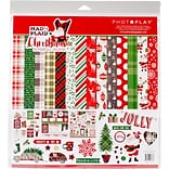 Photo Play Paper Mad 4 Plaid Christmas Collection Pack, 12 x 12 (MPC2876N)