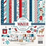 Echo Park Paper A Perfect Winter Collection Kit, 12 x 12 (APWKIT-36016)
