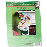 Bucilla 18 Long Mary Engelbreit Let It Snow Stocking Felt Applique Kit (86650)