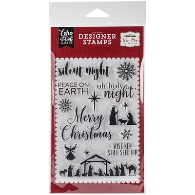 Echo Park Paper Oh Holy Night Stamps, 4 x 6 (WM137048)