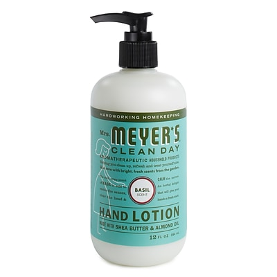 Mrs. Meyers Clean Day Hand Lotion, Basil, 12 oz. (686591)