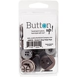 Button Up! Dorians Gray Party Pack Buttons (JABC55-19)
