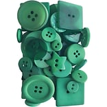 Button Up! Emerald City Party Pack Buttons (JABC55-09)