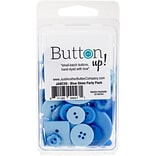 Button Up! Blue Skies Party Pack Buttons (JABC55-12)