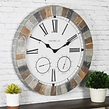 FirsTime® 18 Garden Stone Outdoor Clock (99670)