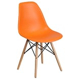 Flash Furniture Plastic Chair(FH130DPPOR)