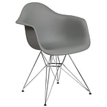 Flash Furniture Plastic Chair(FH132CPP1GY)
