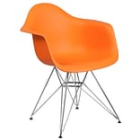 Flash Furniture Plastic Chair 2 (2FH132CPP1OR)